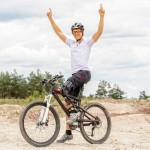 Mountain bike ride with prosthetic in Cairns